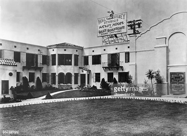 Zweigeschossiger Anbau für Ton und Animation der Walt Disney Studios in2719 Hyperion Avenue east of downtown Los Angeles California USA undatiert...