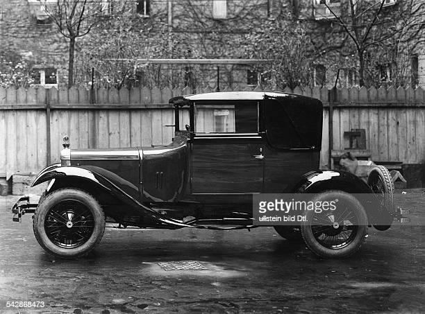 Zweisitziges Kabriolett Daimler Selbstfahrerveröffentlicht Dame 5/1925Foto Zander Labisch