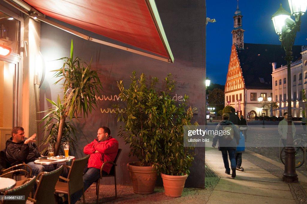 Zwickau Hauptmarkt Restaurant News Photo Getty Images