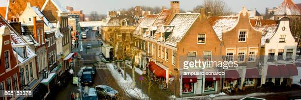 zwolle downtown, netherlands - overijssel stock photos and pictures