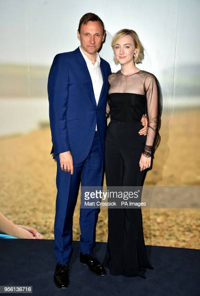 Zygi Kamasa and Saoirse Ronan attending a special screening of On Chesil Beach at the Curzon Mayfair London