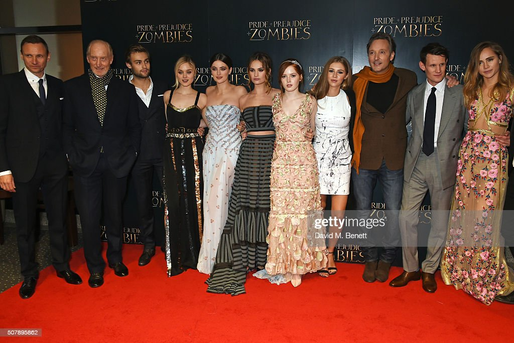 """""""Pride And Prejudice And Zombies"""" - European Film Premiere - VIP Arrivals"""