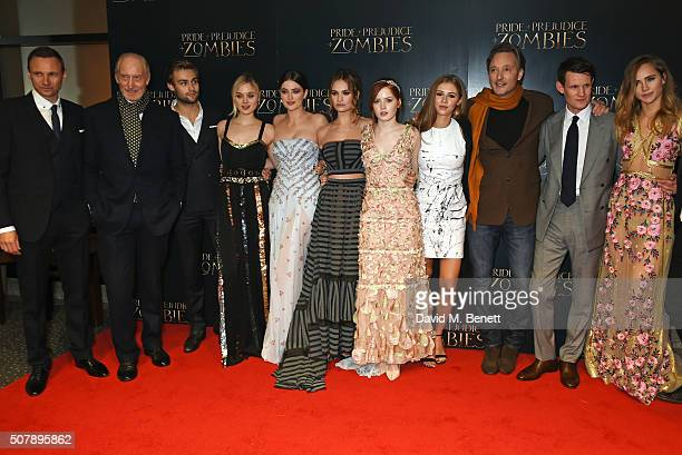 Zygi Kamasa Charles Dance Douglas Booth Bella Heathcote Millie Brady Lily James Ellie Bamber Hermione Corfield director Burr Steers Matt Smith and...