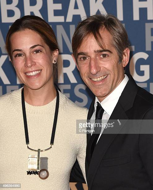 Zynga CoFounder Mark Pincus and wife Alison Gelb arrive at the 3rd Annual Breakthrough Prize Award Ceremony at NASA Ames Research Center on November...