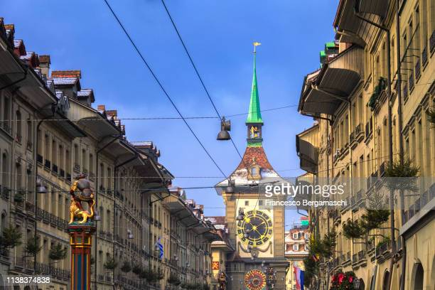 Zytglogge tower in the historical center. Bern, Canton of Bern, Switzerland, Europe.