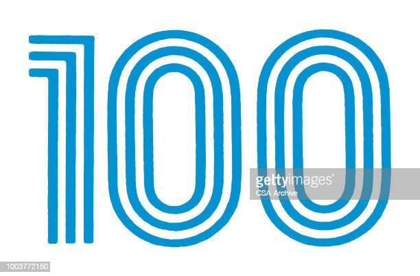 100 - ゼロ点のイラスト素材/クリップアート素材/マンガ素材/アイコン素材