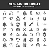 MENS FASHION ICON SET