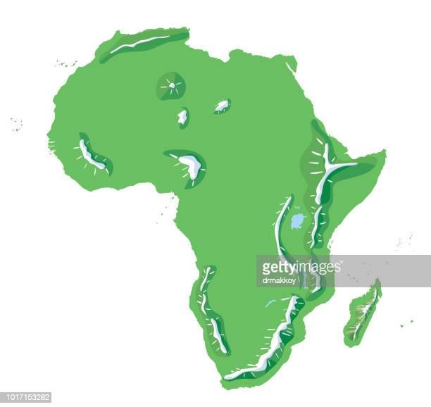 ilustrações, clipart, desenhos animados e ícones de mapa de áfrica - libéria