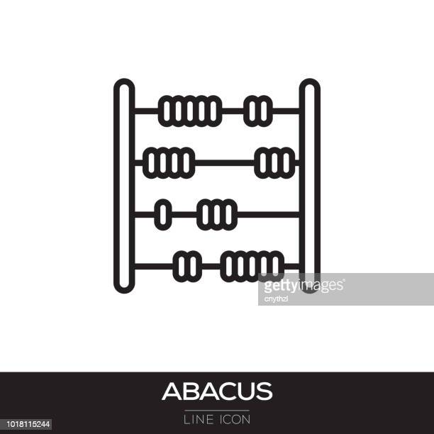 ABACUS LINE ICON