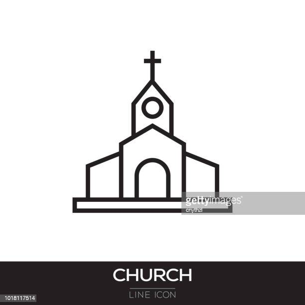 CHURCH LINE ICON