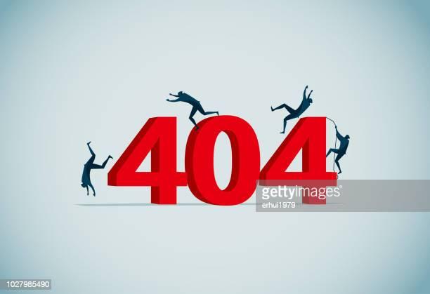404 - bad luck stock illustrations, clip art, cartoons, & icons