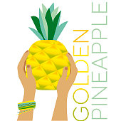 фрукты в руках тропикал лето