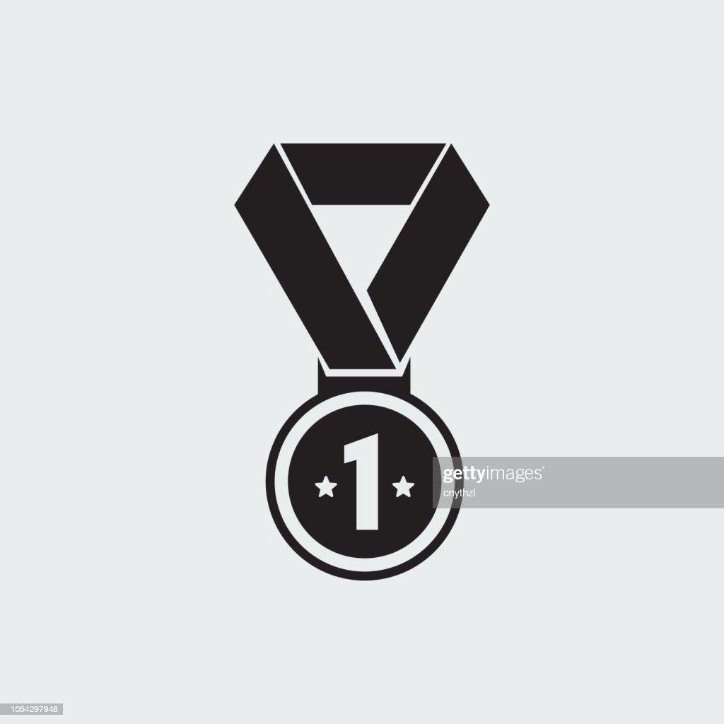 ACHIEVEMENT ICON : stock illustration
