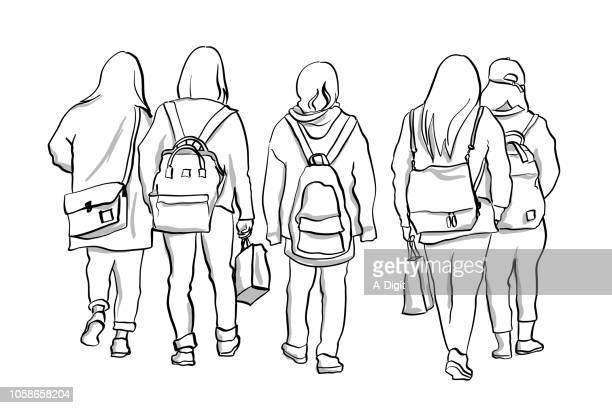 img_2164 - female friendship stock illustrations