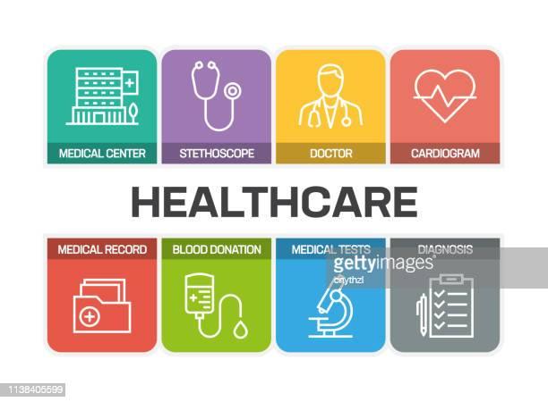 医療・医療ラインアイコン - レントゲン撮影装置点のイラスト素材/クリップアート素材/マンガ素材/アイコン素材