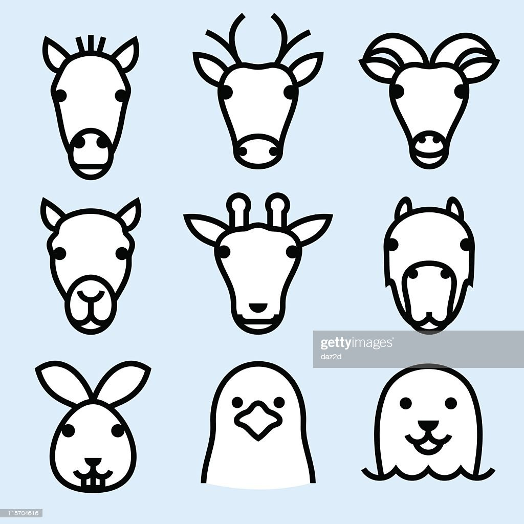 ZOO ICONS (outline) 2