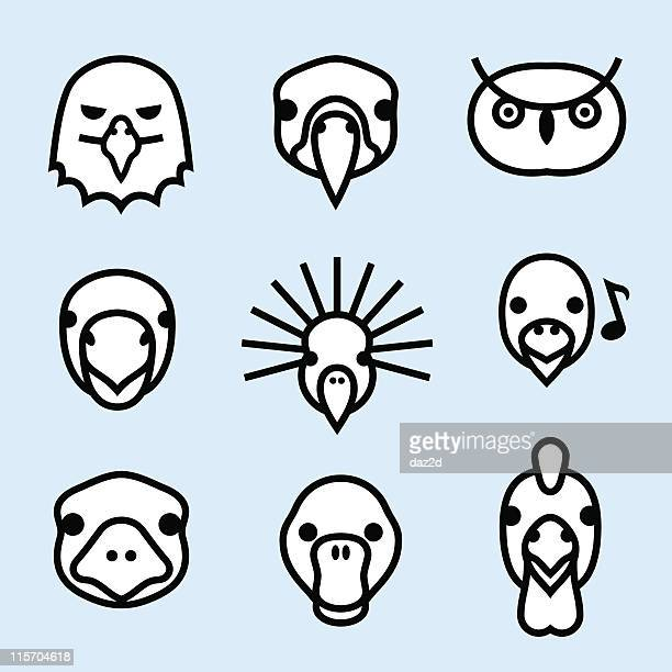 ZOO ICONS (outline) 3