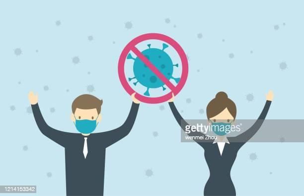 ilustrações de stock, clip art, desenhos animados e ícones de covid-19 - pandemia doença