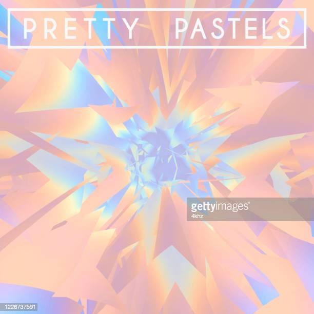 かなりパステル爆発明るいピンクのモーション抽象的な背景 - 玉虫色点のイラスト素材/クリップアート素材/マンガ素材/アイコン素材
