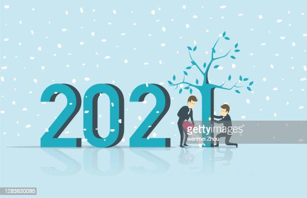 illustrazioni stock, clip art, cartoni animati e icone di tendenza di 2021 - speranza
