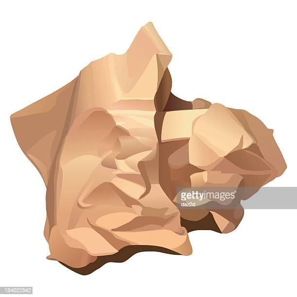 CRUMPLED PAPER (beige)