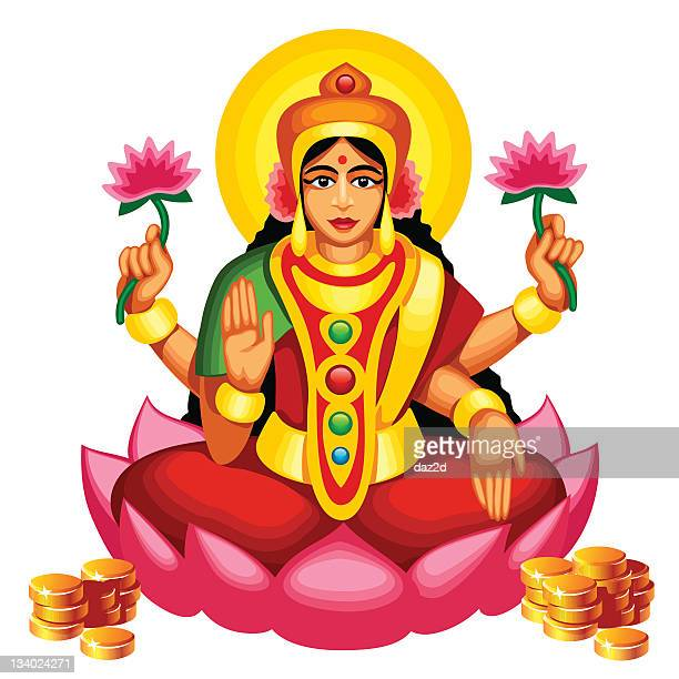 ilustrações de stock, clip art, desenhos animados e ícones de lakshmi - linda rama