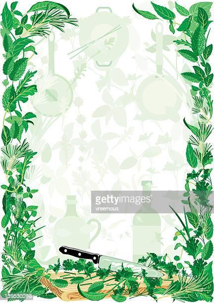 herbs - basil stock illustrations, clip art, cartoons, & icons