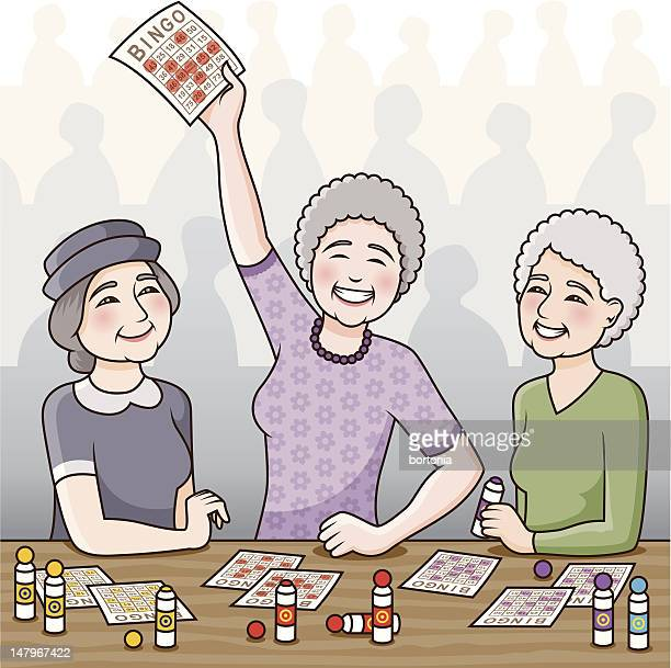 bingo! - bingo stock illustrations