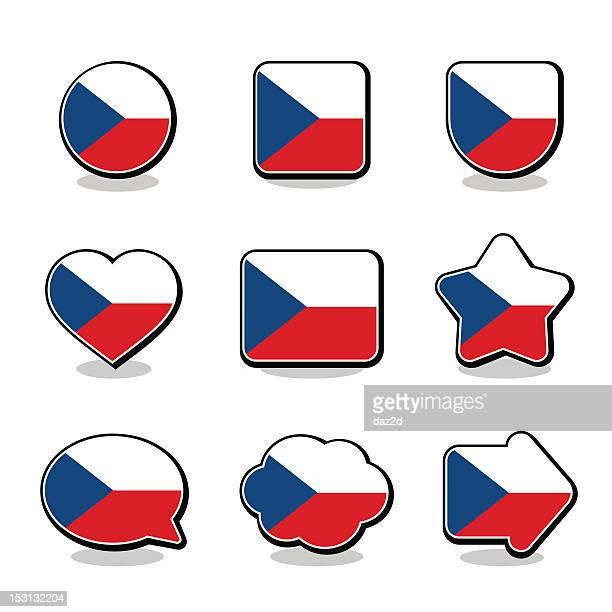 CZECH FLAG ICON SET
