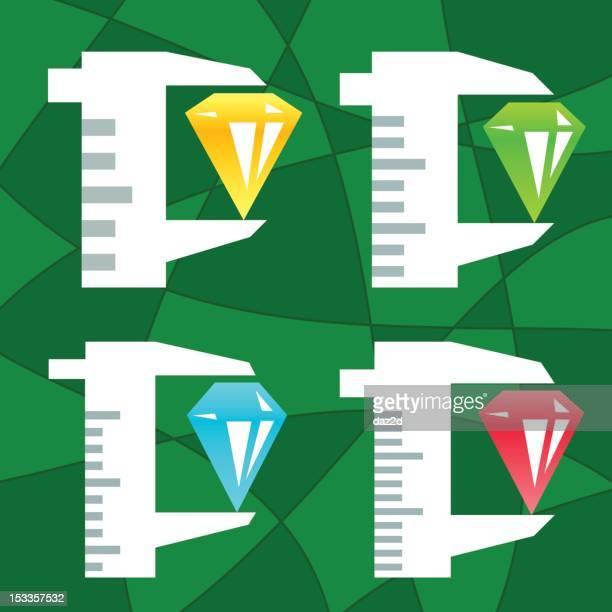CALIPER AND DIAMOND