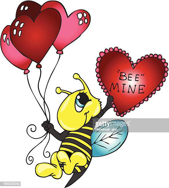 """bee mine"" - bumblebee stock illustrations, clip art, cartoons, & icons"