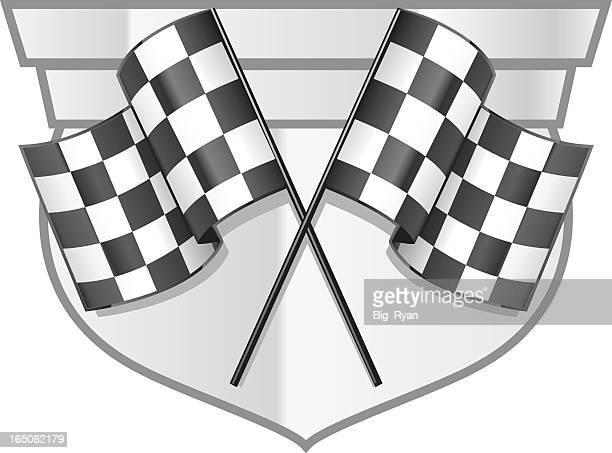 race medalion - street racing stock illustrations, clip art, cartoons, & icons