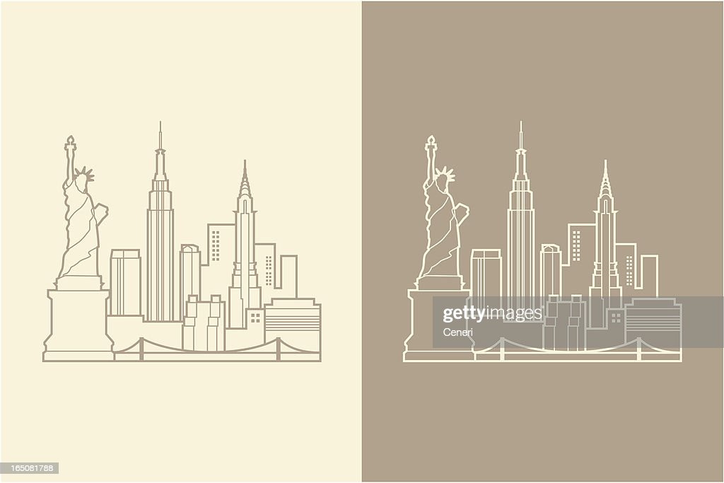NYC : stock illustration