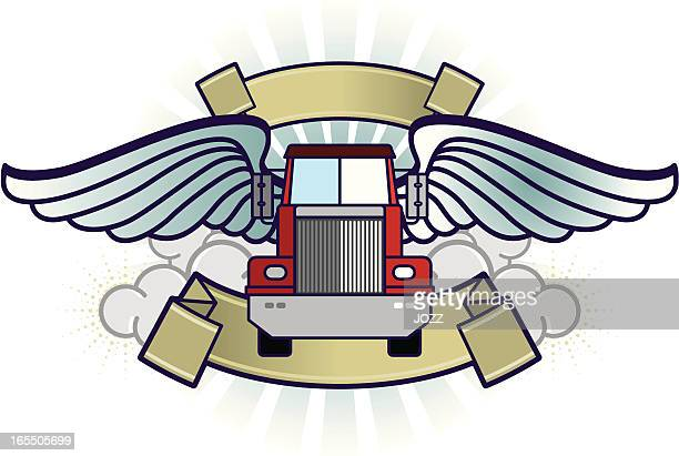 FLYING FUNNY TRUCK