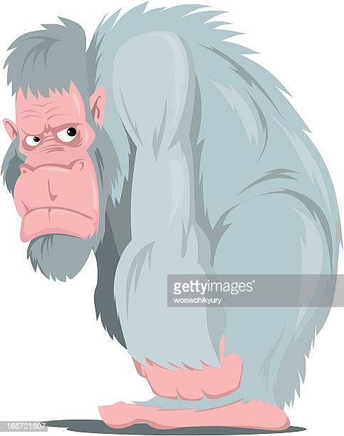 bigfoot - bigfoot stock illustrations
