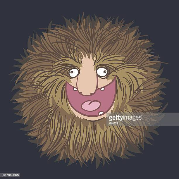 hair lover - animal mane stock illustrations
