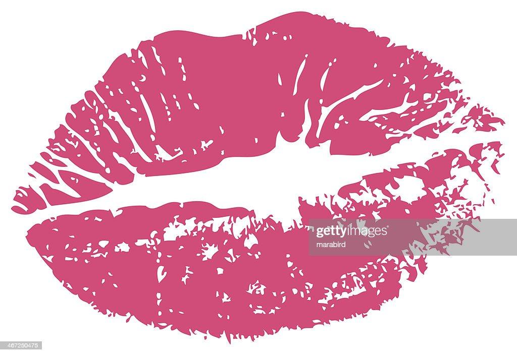 KISS PRINT ROUGE