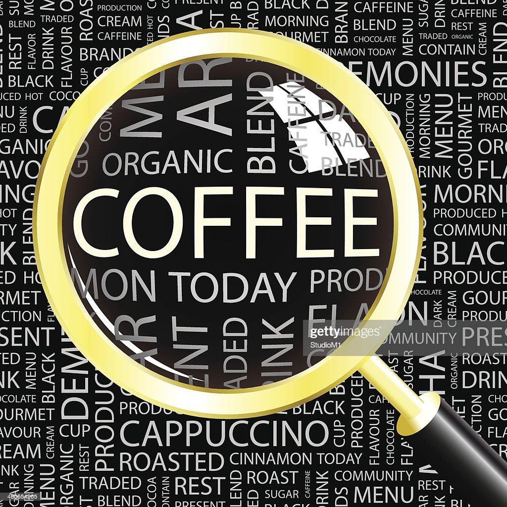 COFFEE. : Vector Art