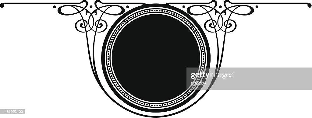 CIRCLE- SCROLL PANEL