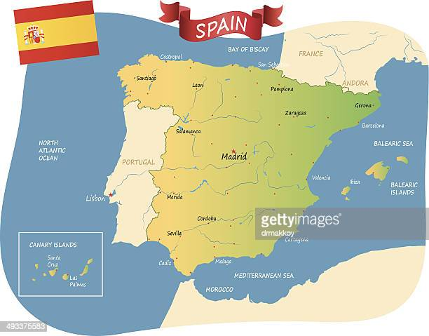 spain - seville stock illustrations, clip art, cartoons, & icons