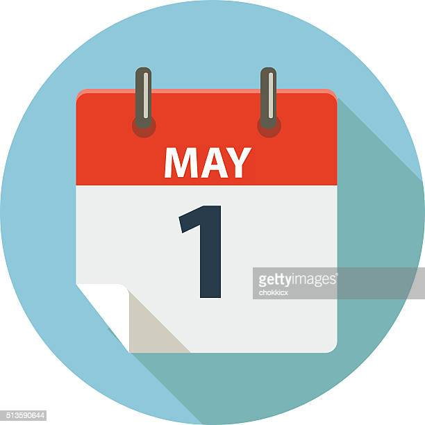 may 1 - may day - may day international workers day stock illustrations