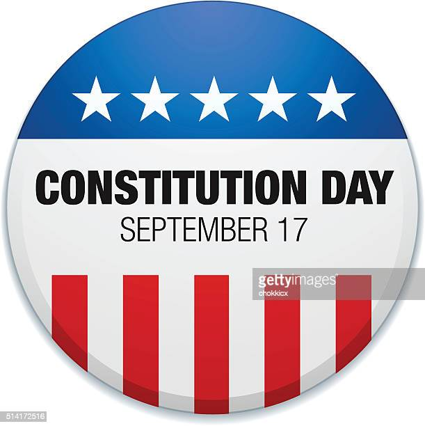 constitution day - bill of rights stock illustrations