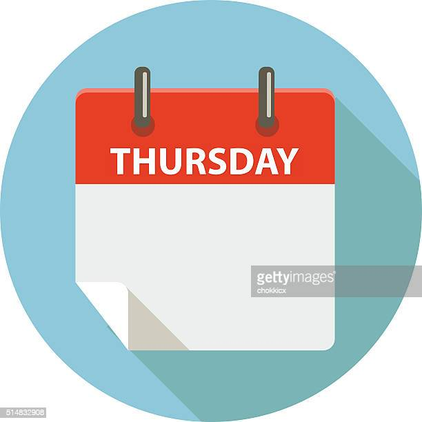 thursday - thursday stock illustrations