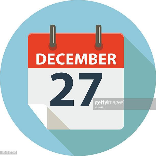 december 27 - 25 29 years stock illustrations