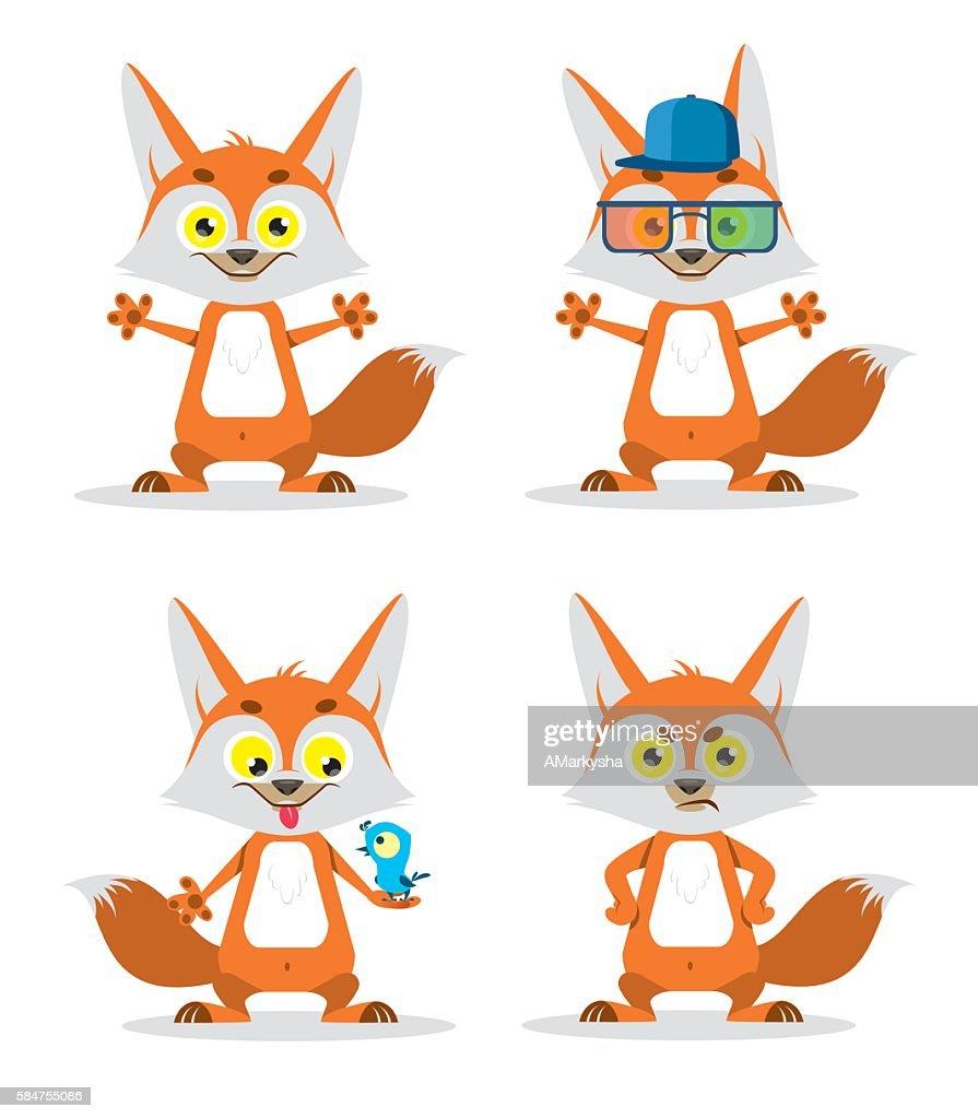 FOX CHARACTERS