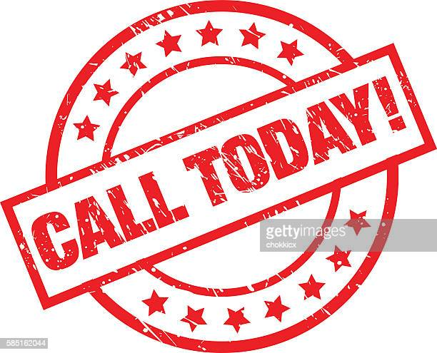 call today - animal call stock illustrations