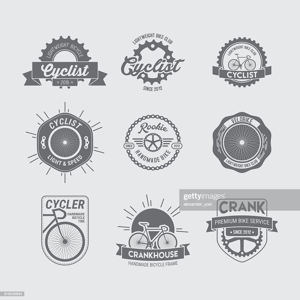 BICYCLE LOGO COLLECTION : Arte vectorial