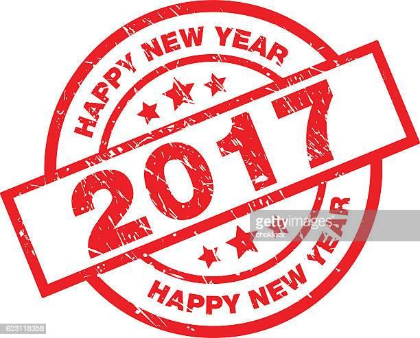 happy new year 2017 - 2017 stock-grafiken, -clipart, -cartoons und -symbole