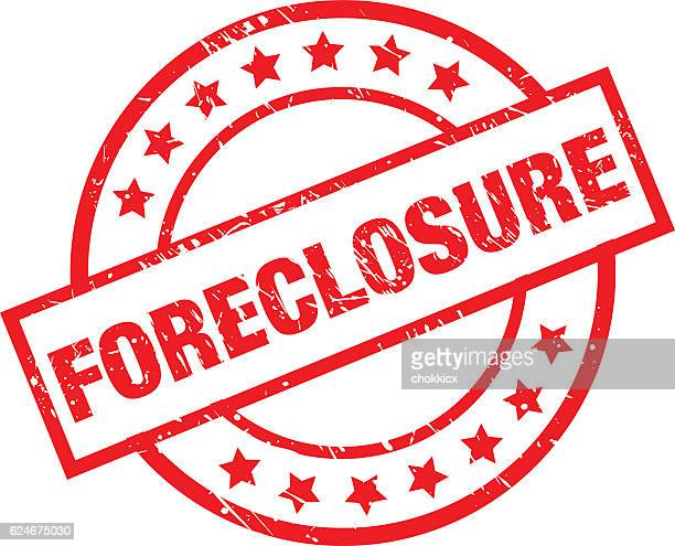 foreclosure - subprime loan crisis stock illustrations