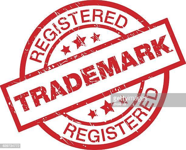 trademark registered - 知的財産点のイラスト素材/クリップアート素材/マンガ素材/アイコン素材